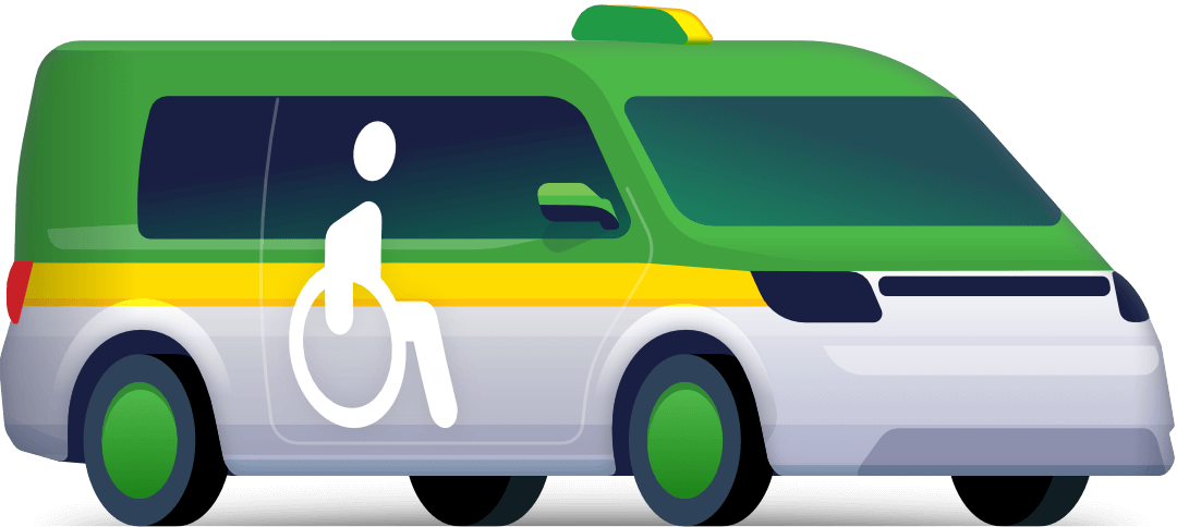 Disabled taxi
