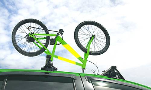 Bicycle transport by taxi